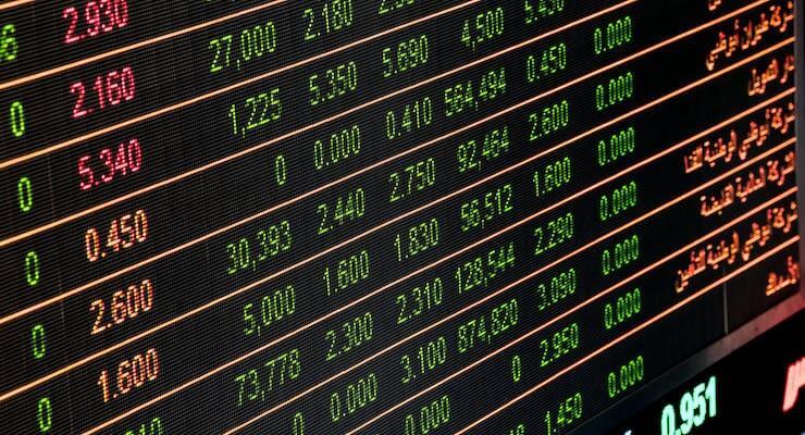 Visuele weergave van 5g aandelen