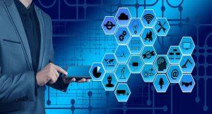 Een visuele weergave van de combinatie tussen het 5G netwerk en Internet of Things