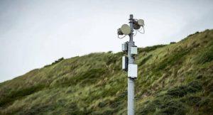 Een visuele weergave van een 5G antenne