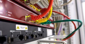 visuele weergave van een 5g router