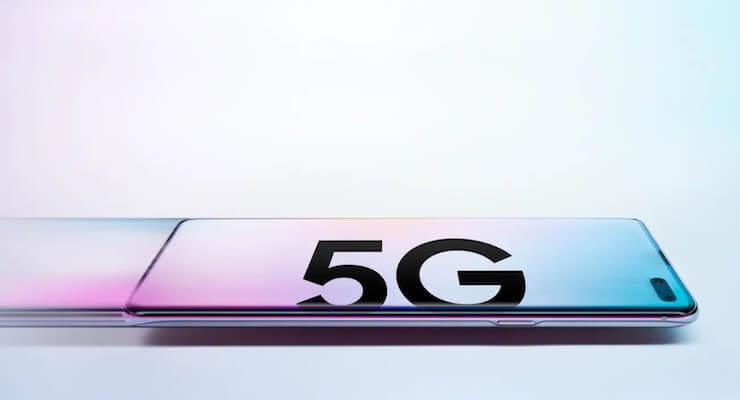 Samsung telefoon met 5G